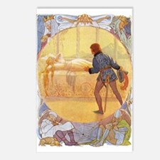 Tarrant's Sleeping Beauty Postcards (Package of 8)