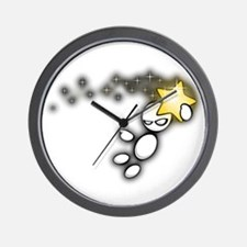 Reaching for the Stars Wall Clock
