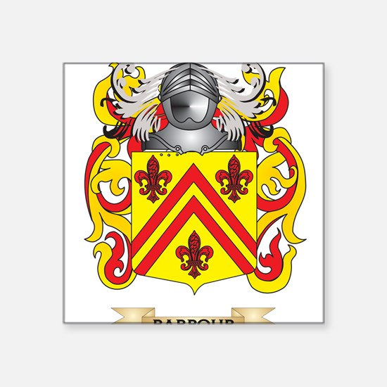 Barbour Coat of Arms Sticker