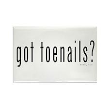 Got Toenails? Rectangle Magnet