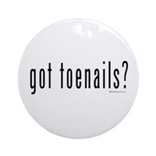 Got Toenails? Ornament (Round)