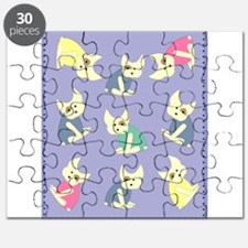 french bulldogs Puzzle