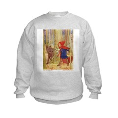 Tarrant's Red Riding Hood Sweatshirt