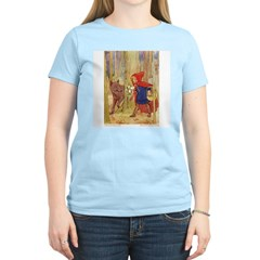 Tarrant's Red Riding Hood Women's Pink T-Shirt