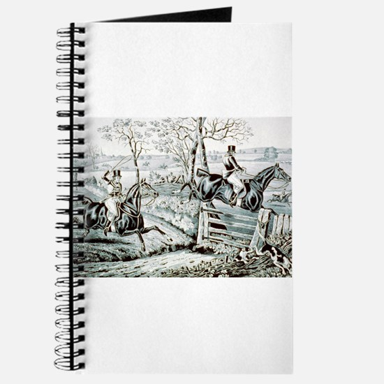 Fox chase - In full cry - 1846 Journal