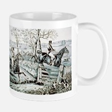 Fox chase - In full cry - 1846 Mug