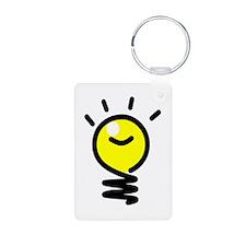 Bright Idea Light Bulb Keychains