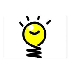 Bright Idea Light Bulb Postcards (Package of 8)