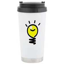 Bright Idea Light Bulb Travel Mug