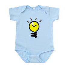 Bright Idea Light Bulb Body Suit
