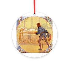 Tarrant's Sleeping Beauty Ornament (Round)