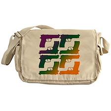 Color Gun Messenger Bag