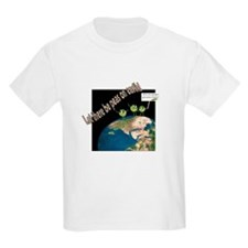 Let There Be Peas on Earth Kids T-Shirt