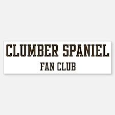 Clumber Spaniel Fan Club Bumper Bumper Bumper Sticker