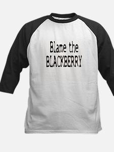 Blame the Blackberry Kids Baseball Jersey