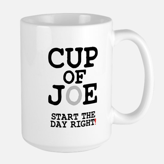 CUP OF JOE - START THE DAY RIGHT! Z Mug