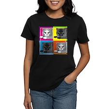 Pop Art Cat Tee