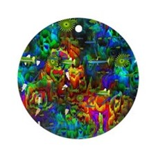 Coral Reef Ornament (Round)