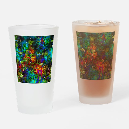 Coral Reef Drinking Glass