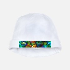 Coral Reef baby hat