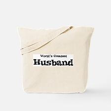 World's Greatest: Husband Tote Bag