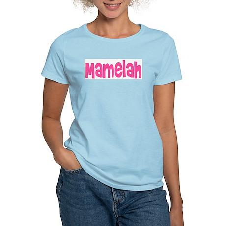 Pink Mamelah Women's Pink T-Shirt