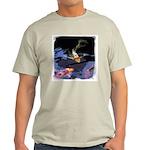 Fancy Koi Ash Grey T-Shirt