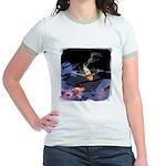 Fancy Koi Jr. Ringer T-Shirt