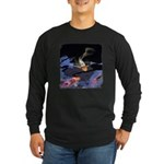Fancy Koi Long Sleeve Dark T-Shirt