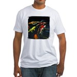 Large Koi Fitted T-Shirt