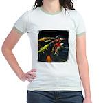 Large Koi Jr. Ringer T-Shirt