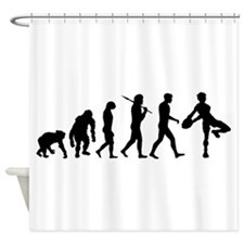 Rugby Evolution Shower Curtain
