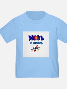 Pilot in Training - Kid's T-shirt