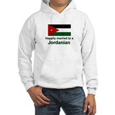 Happily Married To A Jordanian Hoodie