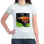 Red Koi Rising Jr. Ringer T-Shirt