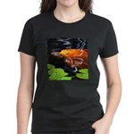 Red Koi Rising Women's Dark T-Shirt