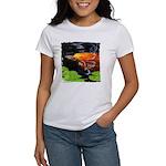 Red Koi Rising Women's T-Shirt