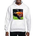 Red Koi Rising Hooded Sweatshirt