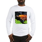 Red Koi Rising Long Sleeve T-Shirt