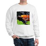 Red Koi Rising Sweatshirt