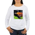 Red Koi Rising Women's Long Sleeve T-Shirt