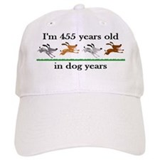 65 dog years birthday 2 Baseball Baseball Cap
