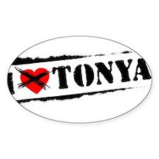 I Hate Tonya Decal