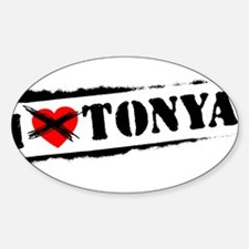 I Hate Tonya Decal