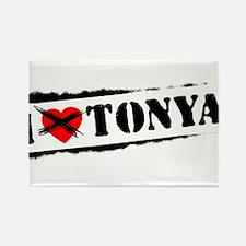 I Hate Tonya Rectangle Magnet