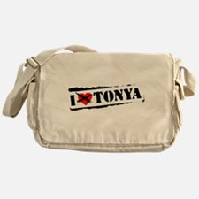 I Hate Tonya Messenger Bag