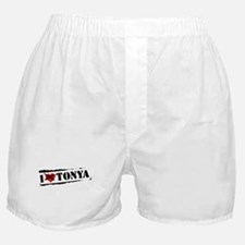 I Hate Tonya Boxer Shorts