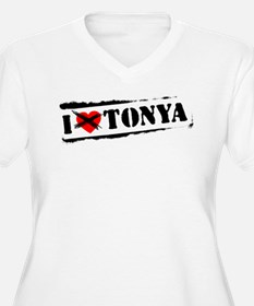 I Hate Tonya Plus Size T-Shirt