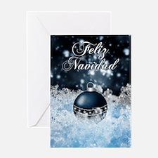 Spanish Language Stylish Christmas Card