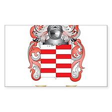 Barrett Coat of Arms Decal